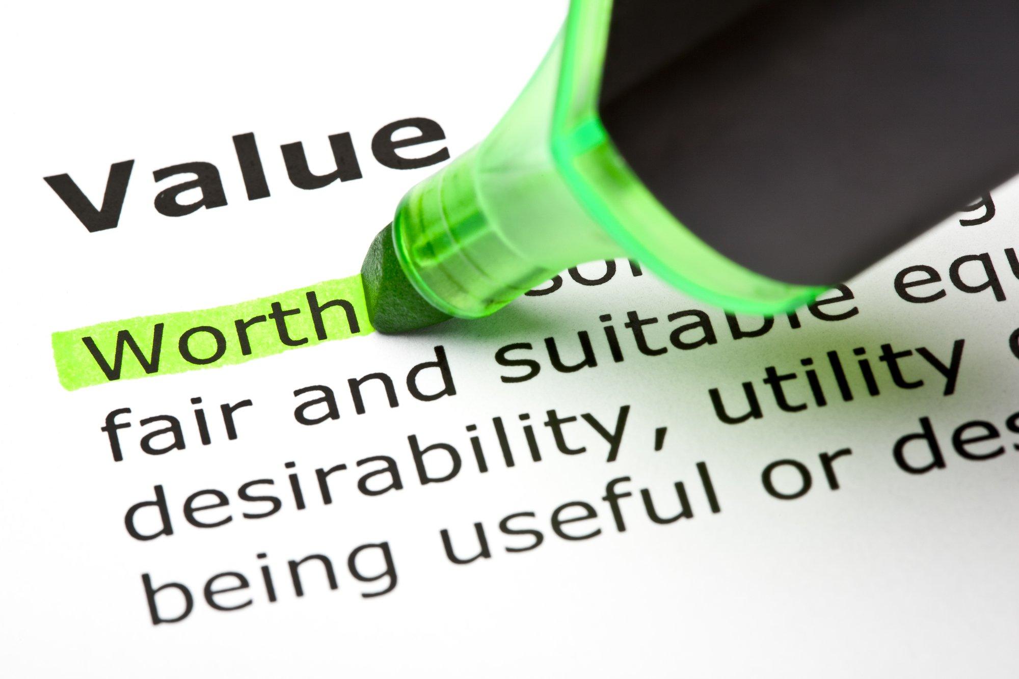 Fair Market Value and Orderly Liquidation Value
